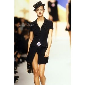 ✨Rare Vintage CHANEL 1995 Collection Runway Dress